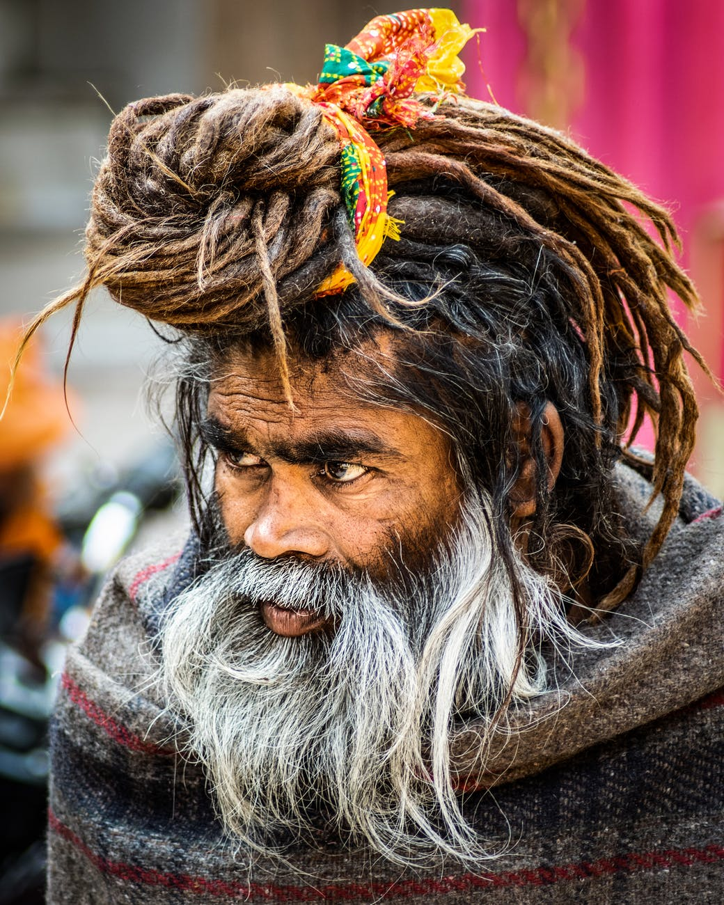 close up photo of man with dreadlocks